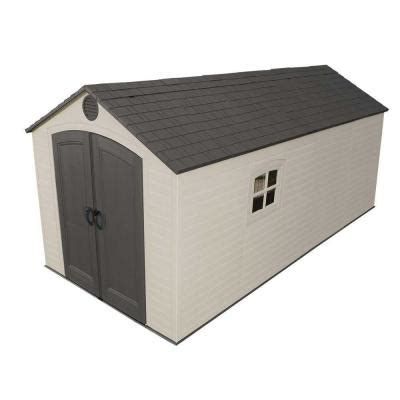 8x10 Rubbermaid Shed by Lifetime 8 Ft X 15 Ft Storage Shed 60075 The Home Depot