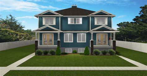 4 Plex Plan 2011590 Edesignsplans Ca 4 Plex House Plans Canada