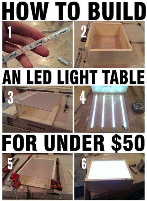 led desk light strip how to build an led light with wood led strips