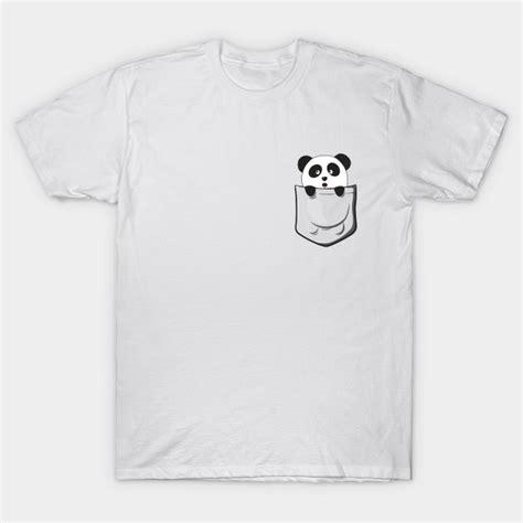 Tshirt Pocket Pandas by Pocket Panda Panda T Shirt Teepublic
