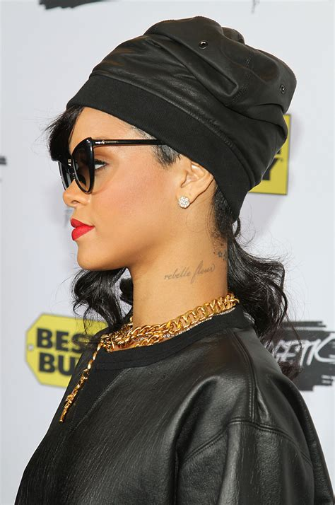 rihanna tattoos nefertiti rihanna