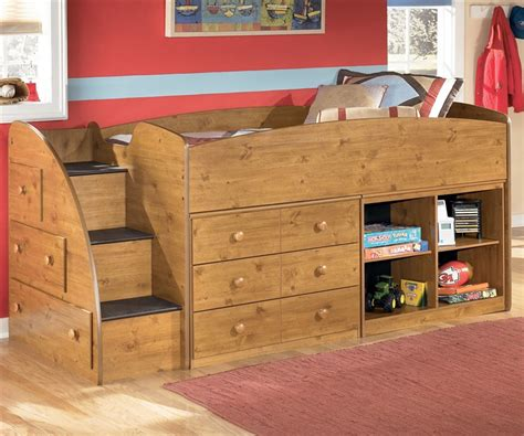 loft bed with dresser underneath loft bed with dresser clubhouse chocolate twin jr loft