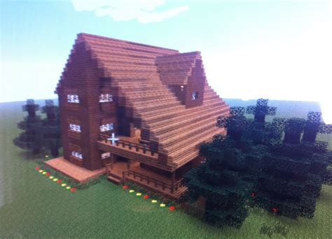 Cottage Minecraft by This House Is A Cabin Or Big Cottage Minecraft