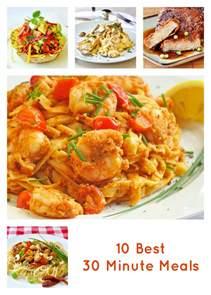 ten of our best 30 minute meals rock recipes rock recipes