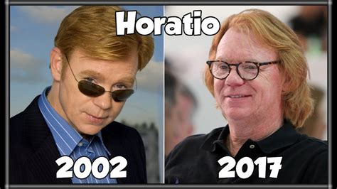 David Caruso Meme - csi miami antes y despu 233 s 2017