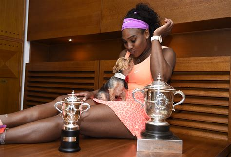 Serena Williams Pooch On The Mound by Serena Williams On Cover Of New York Magazine S Fashion