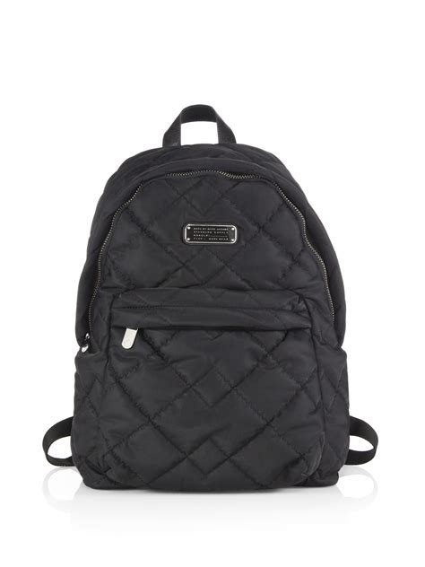 Marc By Marc marc by marc crosby quilted backpack in black