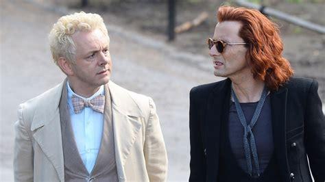 david tennant ginger david tennant and michael sheen look so good in good omens