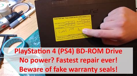 how to uninstall bd rom drive playstation 4 bd rom drive no power fastest repair ever