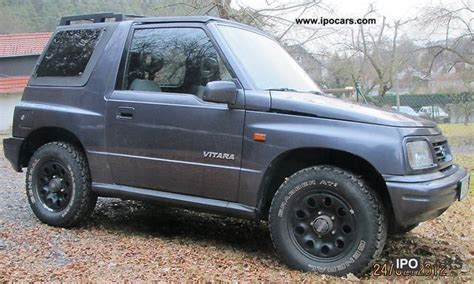 Suzuki Vitara 1998 1998 Suzuki Vitara Car Photo And Specs