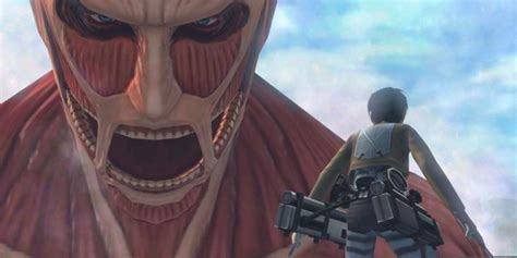 Attack On Titan Giants Ukuran S a attacks in new attack on titan humanity in chains nintendo 3ds teaser trailer