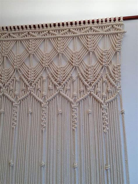 Unique Macrame Patterns - macrame curtain handmade macrame wall by