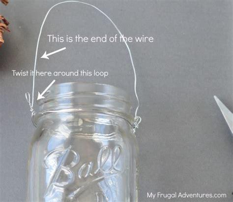 how to make a mason jar l diy hanging mason jar lanterns diy do it your self