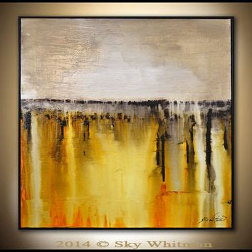 framed abstract original abstract framed painting large from