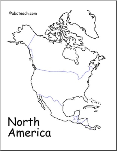 best photos of north america continent coloring page