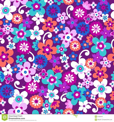 floral pattern repeat vector flowers seamless repeat pattern vector stock images