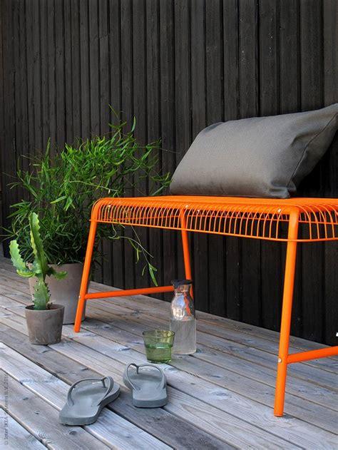 ikea vasteron bench 25 best ideas about orange furniture on pinterest
