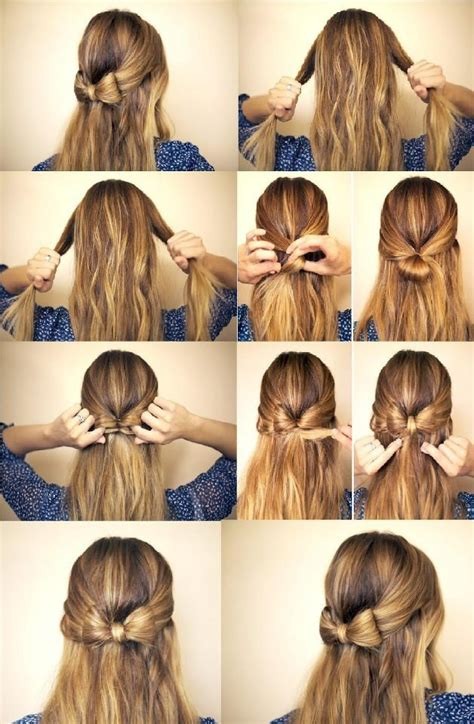 how do you do half up half down hairstyles 12 half up half down hair tutorials you must have pretty