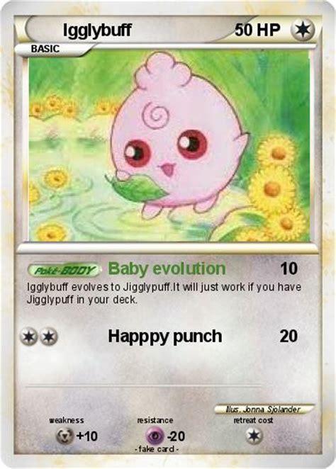 pok 233 mon igglybuff 9 9 baby evolution my card