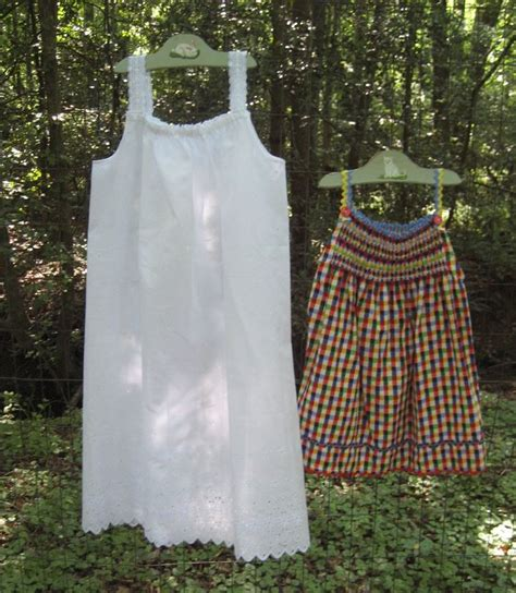 Pattern For Simple Nightie | free sundress and nightgown pattern sew many cute things
