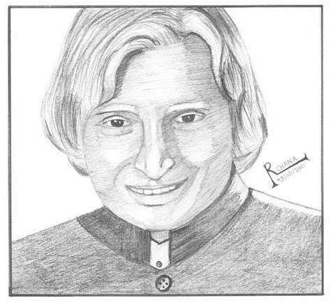 P Drawing Photo by Archana S Arts A P J Kalam