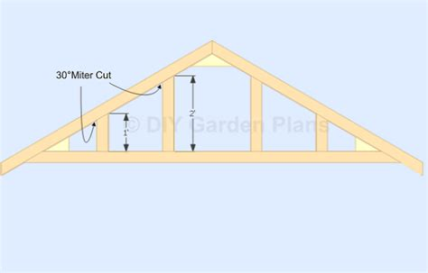 Shed Roof Trusses by Vallen