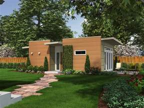 Small Backyard House Plans by Backyard Box