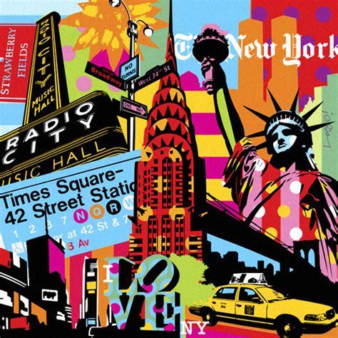 art design kalender new york modern pop art artists love new york lobo pop art