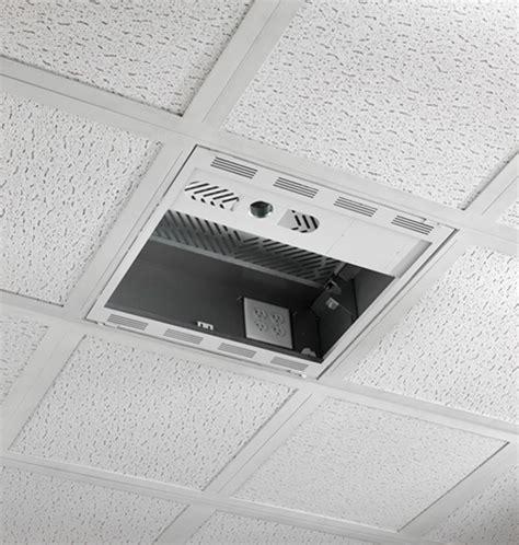 drop storage in ceiling cms492c 2 x 2 plenum storage box with column drop