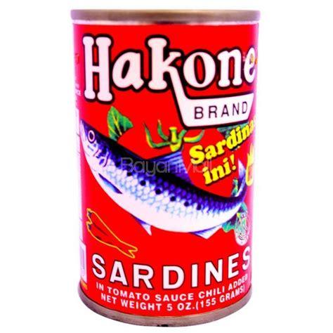 Pronas Sardines Tomato Sauce 155g hakone sardines tomato sauce 155g