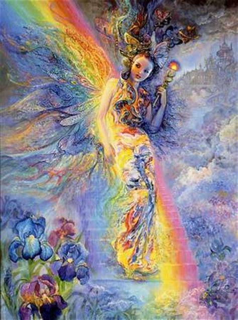 Vase Of Irises Iris Goddess Of The Rainbow