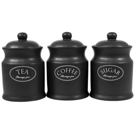 black ceramic kitchen canisters awesome kitchen black canister sets for kitchen with