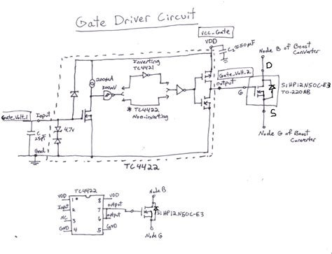 gate driver transistor 4 7 2 design details solar car maximum point power tracker