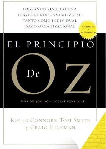 el aleph spanish edition el principio de oz spanish edition of the oz principle roger connors tom smith hickman