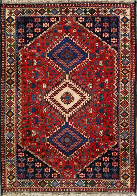 Handcrafted Rugs - buy yalameh rug 3 6 quot x 4 10 quot authentic yalameh