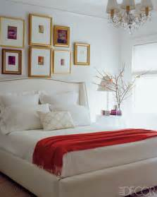 red white bedroom decor red and white bedroom from elle decor