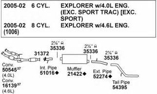 2000 Ford Explorer Exhaust System Diagram 03 Ford Explorer Freeautomechanic