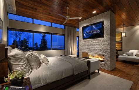 tv in bedroom ideas tv above fireplace design ideas