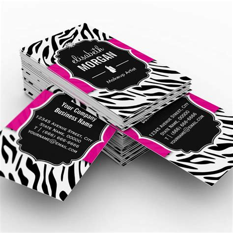 Zebra Card Studio Templates by Construction Manager Modern Twill Grid Business Card
