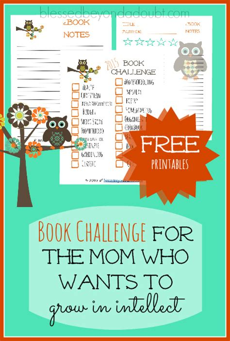 join the 2015 book challenge at blessed beyond a doubt