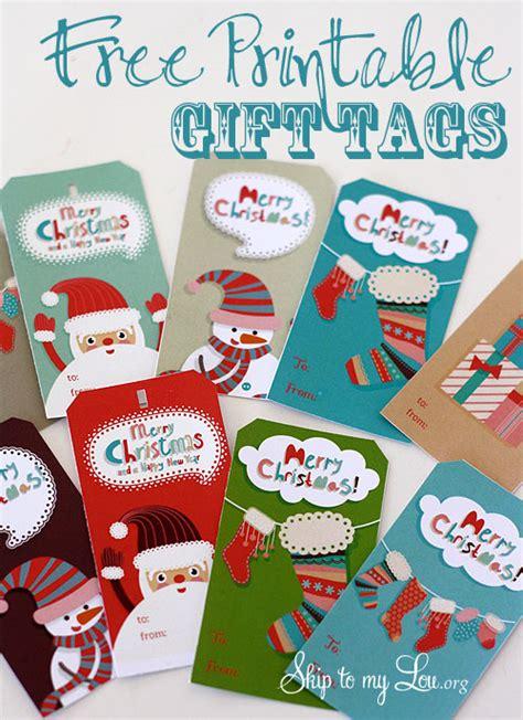 printable christmas gift tags you can type free printable christmas gift tags skip to my lou