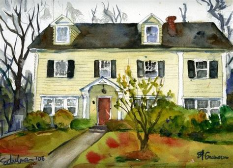 watercolor house painting watercolor home pinterest house photo to painting house portraits portrait