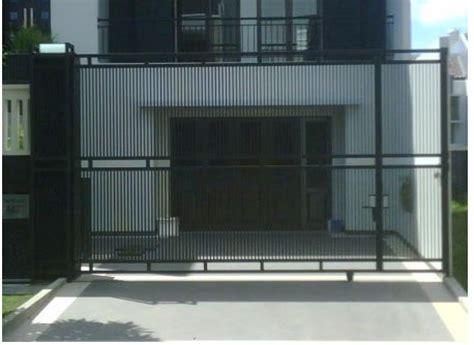 Orbitrack Plat Anti Gores pagar besi rumah pagar besi rumah minimalis pagar besi