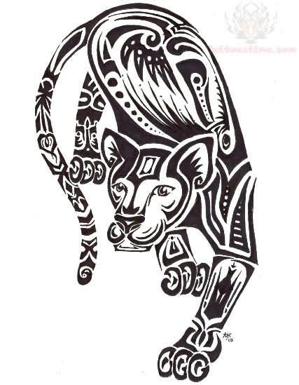 tribal jaguar tattoo designs jaguar tattoo images designs