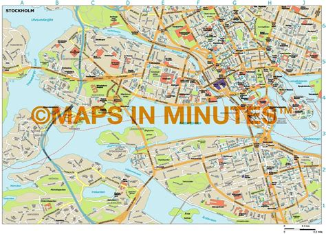 pdf maps royalty free stockholm illustrator vector format city map