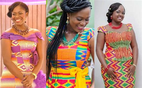 group kente styles ghana traditional kente clothe and other ceremonial