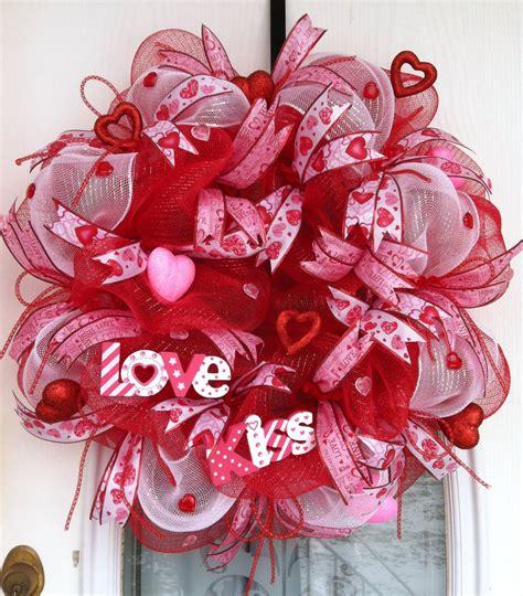 valentines wreaths s deco mesh wreath my deco mesh creations