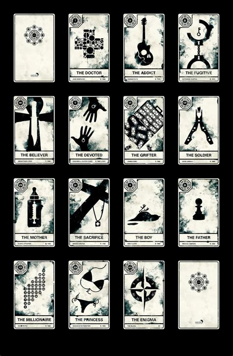 popped culture lost tarot cards