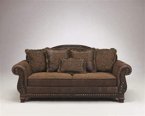 sofa ashley ashley furniture bradington truffle sofa