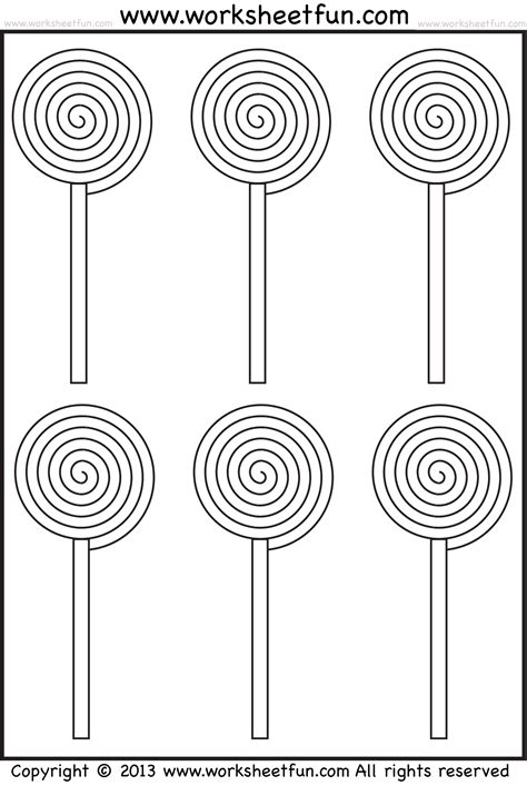 lollipop coloring page coloring home